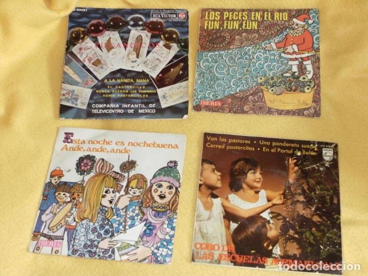 DISCOS DE VILLANCICOS (Música - Discos - Singles Vinilo - Otros estilos)