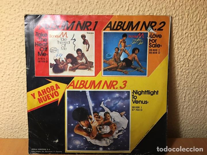 Discos de vinilo: Boney M. - Rios De Babilonia (Rivers Of Babylon) / Brown Girl In The Ring (Single) (Ariola) - Foto 2 - 177728472