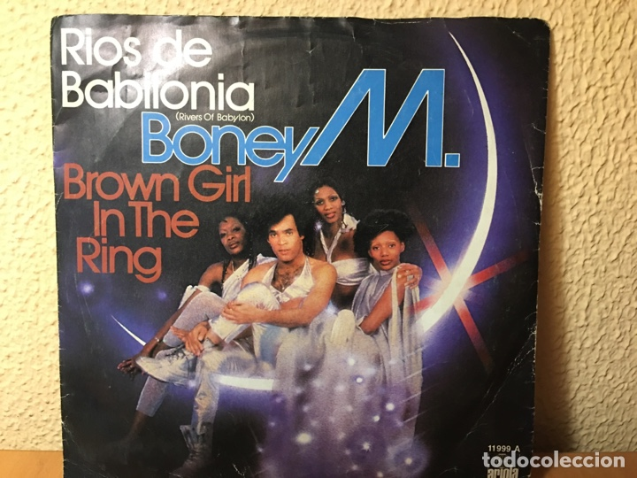 BONEY M. - RIOS DE BABILONIA (RIVERS OF BABYLON) / BROWN GIRL IN THE RING (SINGLE) (ARIOLA) (Música - Discos - Singles Vinilo - Funk, Soul y Black Music)