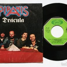 Discos de vinilo: SINGLE: PIRAMIS - DRACULA + WISH THAT I HAD 2 LIVES (MOVIEPLAY, 1980) HUNGARIAN PROG ROCK. Lote 177733594