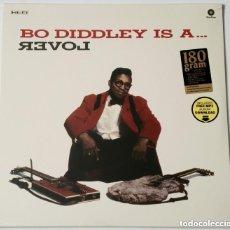 Discos de vinilo: LP - BO DIDDLEY IS A LOVER (WAXTIME, 2015) VINILO DE 180 GRAM - PRECINTADO. Lote 177734048