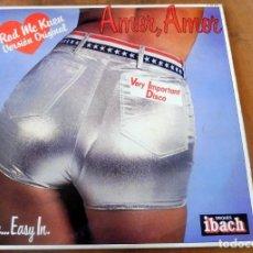 Discos de vinilo: LP - DISQUES IBACH - AMOR, AMOR, - ROD MC. KUEN - SLIDE ....EASY IN.. Lote 177735918