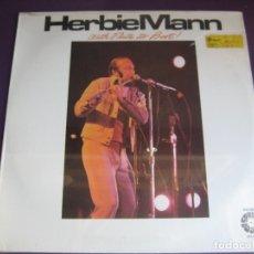 Disques de vinyle: HERBIE MANN LP SPRINGBOARD 1975 PRECINTADO - WITH FLUTE TO BOOT! - JAZZ LATIN . Lote 177736305