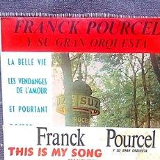 Discos de vinilo: 2 SINGLES DE POURCEL Y SU ORQUESTA. Lote 177740289