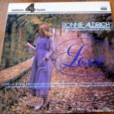 Discos de vinilo: LP - DECCA - RONNIE ALDRICH - ORQUESTA FESTIVAL DE LONDRES. Lote 177740640