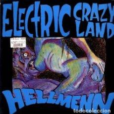 Discos de vinilo: HELLMENN ELECTRIC CRAZY LAND LP . HARD ONS NIRVANA MEANIES AUSTRALIA GRUNGE. Lote 177744864