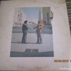Discos de vinilo: PINK FLOYD - WISH YOU WERE HERE LP - ORIGINAL U.S.A. COLUMBIA RECORDS 1975 CON FUNDA INT. ORIGINAL. Lote 177745098