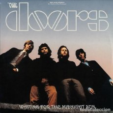 Discos de vinilo: THE DOORS – WAITING FOR THE MIDNIGHT SUN LP. Lote 177747877
