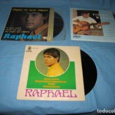 Discos de vinilo: LOTE SINGLES DE VICTOR MANUEL Y RAPHAEL . Lote 177748158