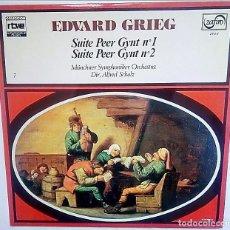 Discos de vinilo: VINILO DE EDVARD GRIEG. Lote 177748349