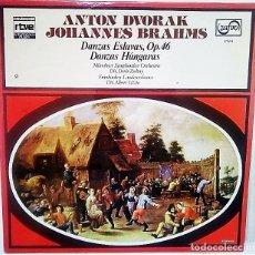 Discos de vinilo: VINILO DE DEVORAK Y BRAHMS. Lote 177748985