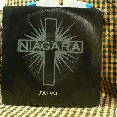 Discos de vinilo: NIAGARA – J'AI VU / MA VIE EST UN SERPENT AU COEUR FROID, POLYDOR – 877 160-7, 1990, FRANCES.. Lote 177749657