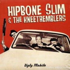 Discos de vinilo: HIPBONE SLIM AND THE KNEETREMBLERS UGLY MOBILE LP . HEADCOATS MILKSHKES GARAGE. Lote 177750812