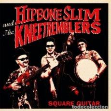 Discos de vinilo: HIPBONE SLIM AND THE KNEETREMBLERS SQUARE GUITAR LP . HEADCOATS MILKSHKES GARAGE. Lote 177751009
