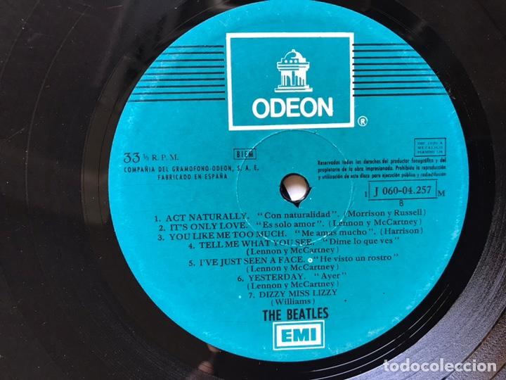 Discos de vinilo: Help. The Beatles - Foto 9 - 113645436