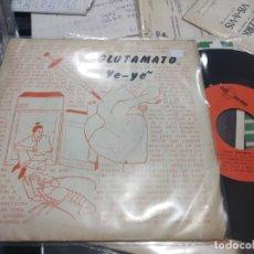 Discos de vinilo: PRIMER EP GLUTAMATO YE YE CORAZON LOCO 1982 DISCO EN MUY BUEN ESTADO CON ENCARTE. Lote 177763612