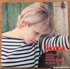 Discos de vinilo: KARINA EP HISPAVOX AÑO 1965. Lote 177764494