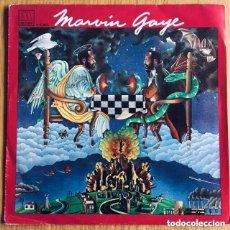 Discos de vinilo: MARVIN GAYE PRAISE SINGLE ESPAÑA DISCO IMPECABLE COMO NUEVO. Lote 177764750