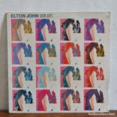 Discos de vinilo: 1986 / SIN ABRIR PRECINTADO A ESTRENAR / ELTON JOHN / LEATHER JACKETS. Lote 177766984