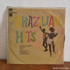 Discos de vinilo: BRAZILIA HITS / MONTEVIDEO URUGUAY / ODEON URL 3042. Lote 177770347