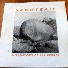 Discos de vinilo: LP - PICAP - SANGTRAÏT - ELS SENYORS DE LES PEDRES. Lote 177772085