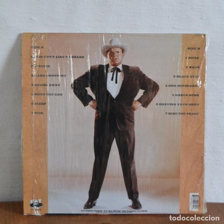 Discos de vinilo: 1995 / LAGWAGON / HOSS / FAT532-1 / BONANZA - Foto 2 - 177773820