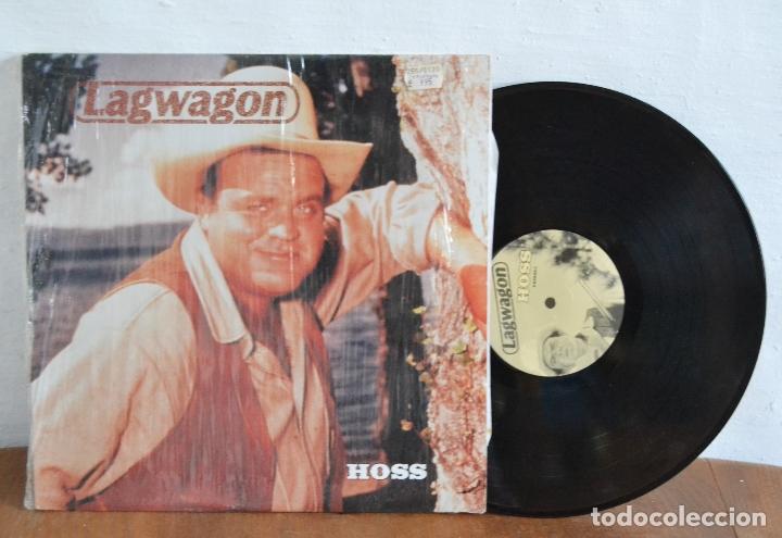 Discos de vinilo: 1995 / LAGWAGON / HOSS / FAT532-1 / BONANZA - Foto 3 - 177773820