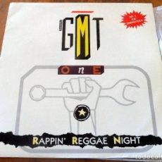 Discos de vinilo: LP - BLANCO Y NEGRO - GMT - RAPPIN REGGAE NICHT. Lote 177778603