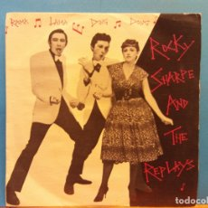 Discos de vinilo: ROCKY SHARPE AND THE REPLAYS. CHISWICK. ESTEREO. Lote 186378305