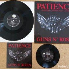 Discos de vinilo: GUNS N' ROSES - PATIENCE PACK 2 VINILOS. Lote 177785005