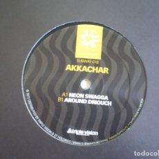 Discos de vinilo: MAXI 12 PULGADAS. AKKACHAR. NEON SWAGGA. . Lote 177786250
