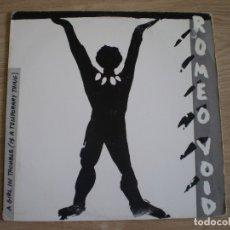 Discos de vinilo: MAXI 12 PULGAS. ROMEO VOID. GIRL IN TROUBLE. Lote 177786884