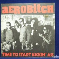 Discos de vinilo: AEROBITCH - TIME TO START KICKIN´ASS - LP. Lote 177790589