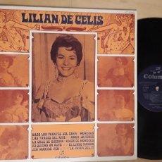 Discos de vinilo: 1 LP DE ** LILIAN DE CELIS ** - 1970 COLUMBIA. Lote 177800069