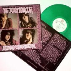 Discos de vinilo: LP: THE DOGS D'AMOUR ..IN THE DYNAMITE JET SALOON (CHINA RECORDS/POLYDOR, 1988) VINILO COLOR VERDE. Lote 177816484
