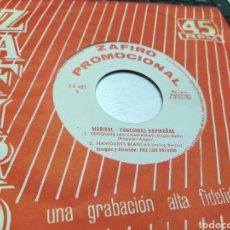 Discos de vinilo: MARISOL SINGLE PROMOCIONAL CANCIONES NAVIDEÑAS 1964. Lote 177826313