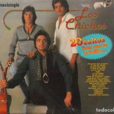 Discos de vinilo: LOS CHICHOS-PARA QUE TU LO BAILES-MAXI PHILIPS. Lote 177829102