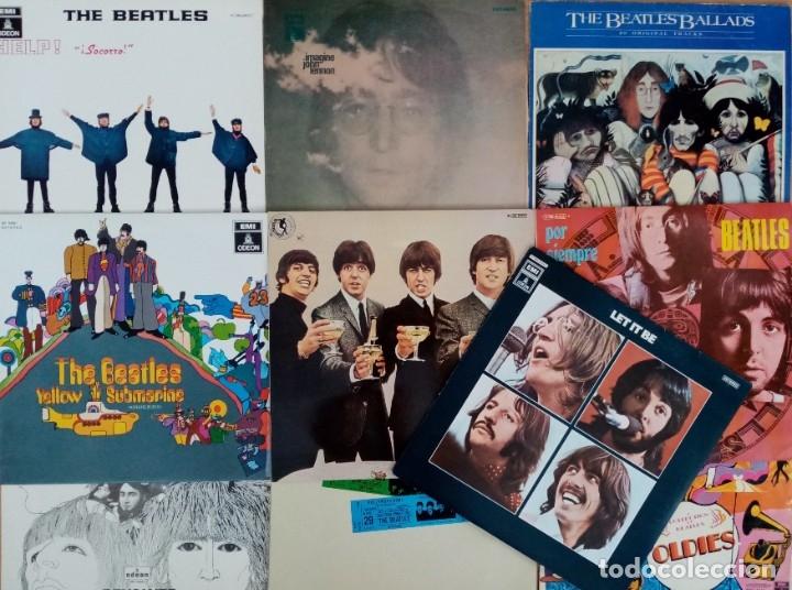 THE BEATLES, 10 VINILOS ORIGINALES AÑOS 60/70 (PROVIENEN DE COLECCIONISTA) (Música - Discos de Vinilo - EPs - Pop - Rock Extranjero de los 50 y 60)