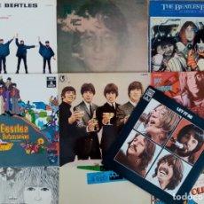 Discos de vinilo: THE BEATLES, 10 VINILOS ORIGINALES AÑOS 60/70 (PROVIENEN DE COLECCIONISTA). Lote 177829664