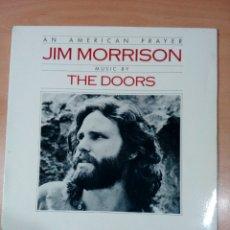 Discos de vinilo: AN AMERICAN PRAYER - JIM MORRISON - TE DOORS - EDICIÓN ESPAÑOLA - BUEN ESTADO - VER FOTOS. Lote 177831993