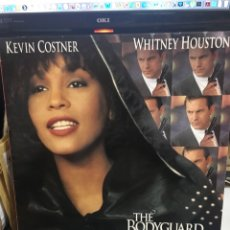 Discos de vinilo: THE BODYGUARD(EL GUARDAESPALDAS)-1992-WHITNEY HOUSTON-EXCELENTE ESTADO-ENCARTE ORIGINAL CON LETRAS. Lote 177836687