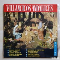Discos de vinilo: VILLANCICOS ANDALUCES - LP VINILO - BELTER - 1966. Lote 177838844