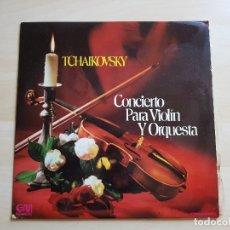 Discos de vinilo: TCHAIKOVSKY - CONCIERTO PARA VIOLÍN Y ORQUESTA - LP VINILO - GRAMUSIC - 1973. Lote 177839493