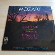 Discos de vinilo: MOZART - SINFONIA Nº 41 Y Nº 29 - BARBIROLLI - LP VINILO - CLASSICAL RECORDS - 1976. Lote 177839603