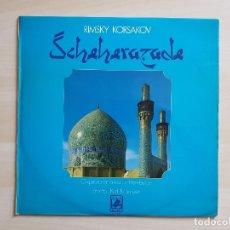 Discos de vinilo: RIMSKY KORSAKOV - SCHEHERAZADE - LP VINILO - CLASSICAL RECORDS - 1975. Lote 177839728