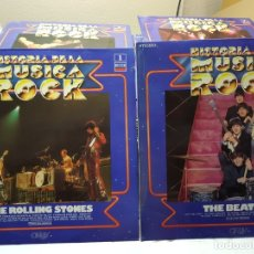 Discos de vinilo: LP- HISTORIA DE LA MUSICA ROCK -99 LP ESCASA AÑO 1981. Lote 191851673