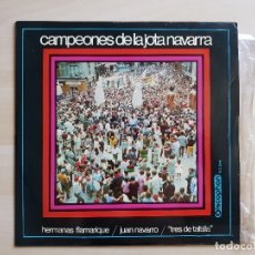 Discos de vinilo: CAMPEONES DE LA JOTA NAVARRA - LP VINILO - DISCOPHON - 1969. Lote 177840655