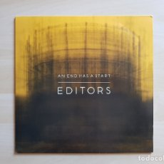 Discos de vinilo: EDITORS - AN END HAS A START - LP VINILO - KITCHENWARE - 2007. Lote 177844539