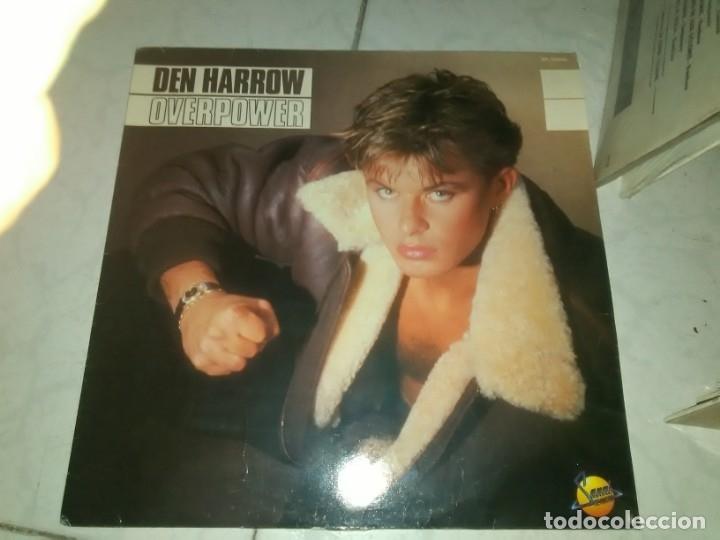 DEN HARROW – OVERPOWER LP (Música - Discos - LP Vinilo - Disco y Dance)
