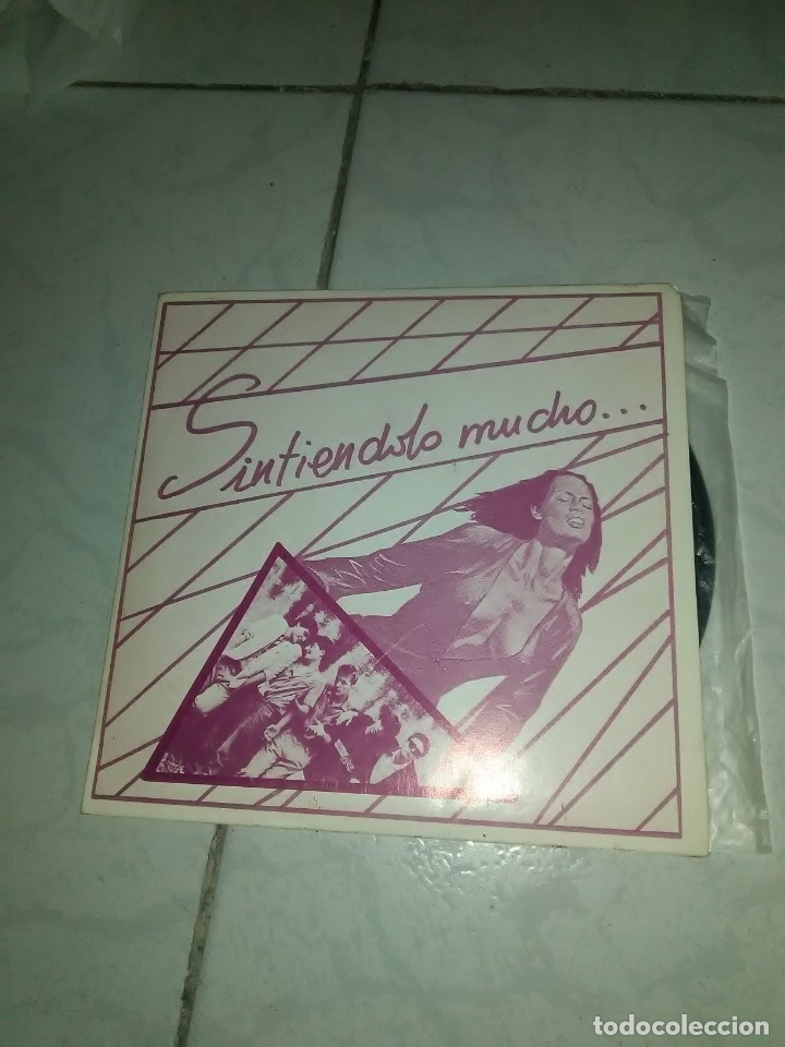 SINTIENDOLO MUCHO – FLORES SOBRE TU TUMBA . SINGLE 7 (Música - Discos de Vinilo - Maxi Singles - Punk - Hard Core)
